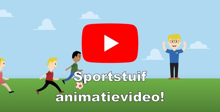 Sportstuif animatievideo